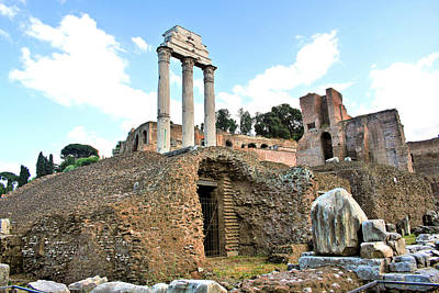 Photograph - Ruins Of Ancient Rome by Gordon Elwell