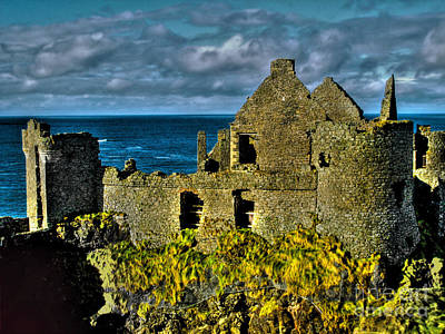 Photograph - Ruins Of Dunluce Castle by Nina Ficur Feenan