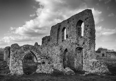Photograph - Ruins Of Grey's Priory by Leah Palmer