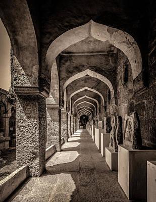 Photograph - Glorious Empire Lie In Ruins-hampi by Usha Peddamatham