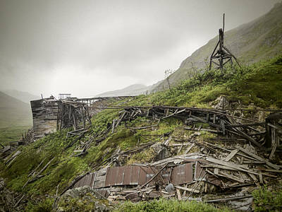 Independence Mine Photograph - Ruins Of Independence Mine No 3 by Phyllis Taylor