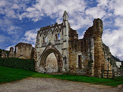 Photograph - Ruins Of Kirkham Priory by Anthony Dezenzio