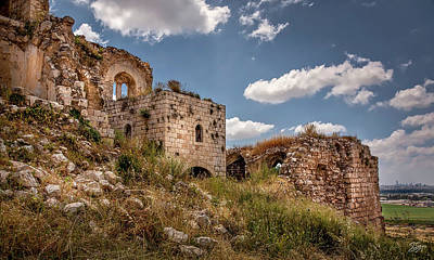 Photograph - Ruins Of Migdal Tzedek by Endre Balogh