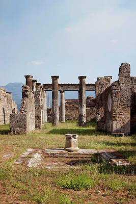 Photograph - Ruins Of Pompeii by Ivete Basso Photography