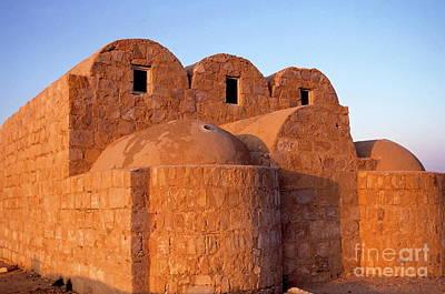 Ruins Of Qasr Amra In Jordan Art Print by Sami Sarkis