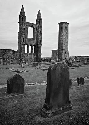 Photograph - Ruins Of St. Andrews by Matt MacMillan