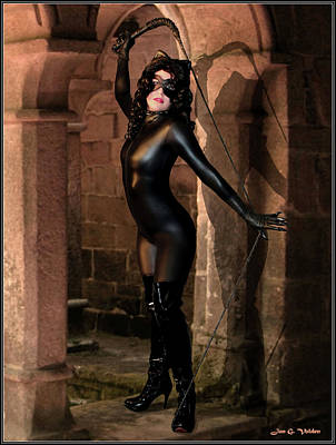 Photograph - Ruins Of The Cat Women by Jon Volden