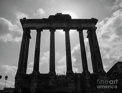 Best Stock Photograph - Ruins Of The Roman Forum by Julian Bowdern