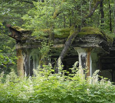 Keith Richards - Ruins of Treadwell Mines by Jody Lovejoy