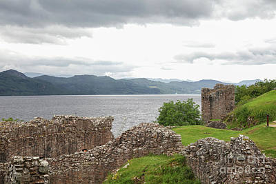 Photograph - Ruins Of Urquhart Castle by Patricia Hofmeester