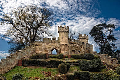 Lkg Photograph - Ruins Of Warwick by Laura George
