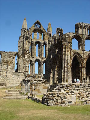 Ruins Of Whitby Abbey Art Print