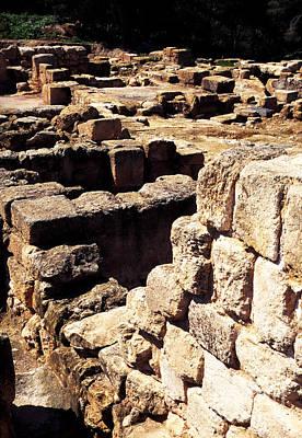 Ruins Of Zippori Print by Thomas R Fletcher