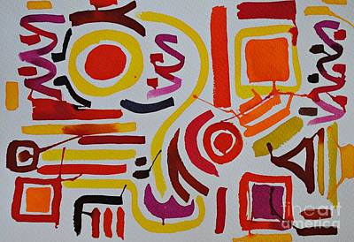 Ancient Civilization Painting - Ruins Under The Sun by Chani Demuijlder