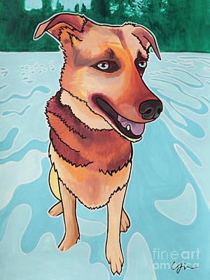 Rukia The Shepherd Dog Original