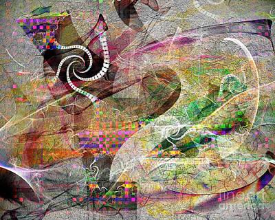 Wrap Digital Art - Rule No 2 by Edmund Nagele