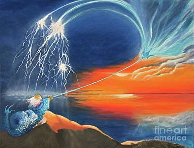 Painting - Ruler Of The Seas by Cindy Lee Longhini