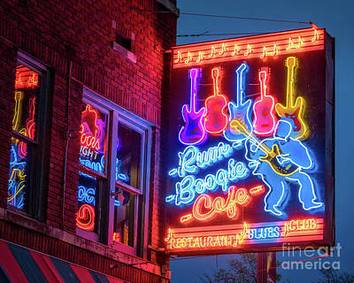 Photograph - Rum Boogie Cafe by Jerry Fornarotto