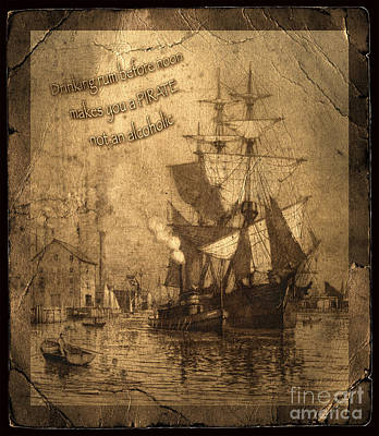 Photograph - Rum Is The Reason by John Stephens