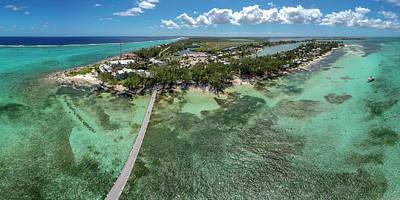 Photograph - Rum Point Beach Panoramic by Adam Romanowicz