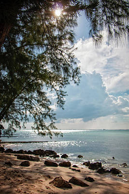 Photograph - Rum Point Vertical by Teresa Wilson