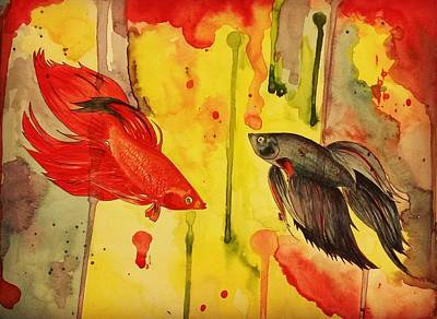 Rumble In The Jungle Art Print by Brooklynn Ash