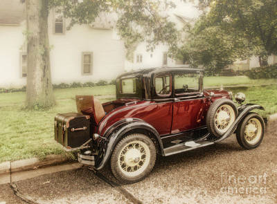 Photograph - Rumble Seat by John Anderson