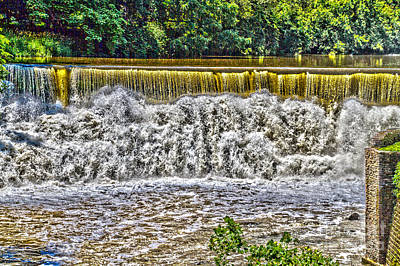 Photograph - Rumbling Waters by William Norton