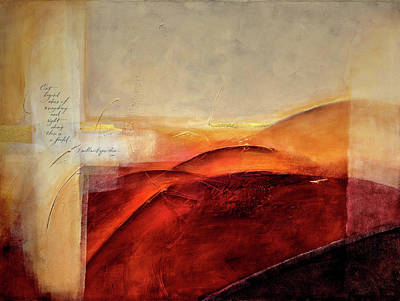 Wrongdoing Mixed Media - Rumi - I Will Meet You There by Jane Dill