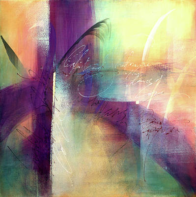 Wall Art - Mixed Media - Rumi - Light And Shadow-two by Jane Dill