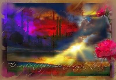 Rumi Rumination-1 Art Print by Seema Sayyidah