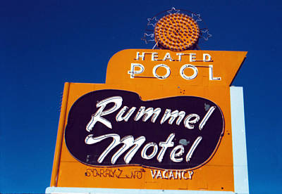 Rummel Motel Art Print by Matthew Bamberg