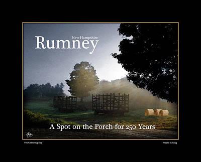 Photograph - Rumney At 250 Poster by Wayne King