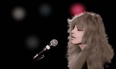 Painting - Rumors - Stevie Nicks by G Cannon