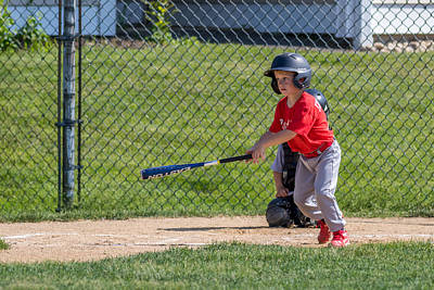 Photograph - Run Batter by Mike Farslow