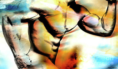 Nudity Mixed Media - run by Mark Ashkenazi