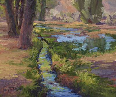 Painting - Run-off, Just Add Water by Jane Thorpe