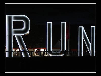 Run Art Print by Roberto Alamino