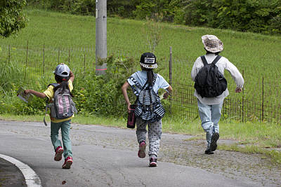 Photograph - Run Together by Masami Iida