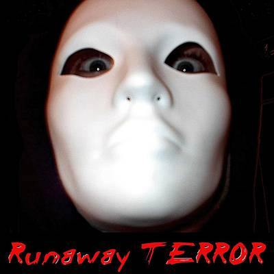 Digital Art - Runaway Terror 3 - Black by Mark Baranowski