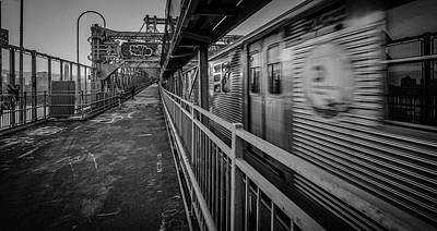 Photograph - Runaway Train by Jeffrey Friedkin