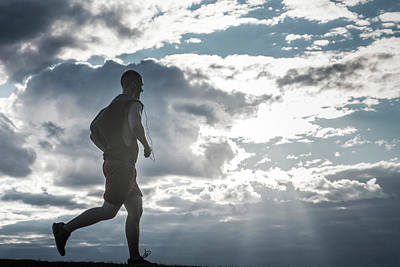 Photograph - Runner by Jianmei Fan