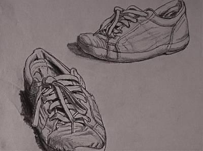 Runners Art Print by Chris  Riley