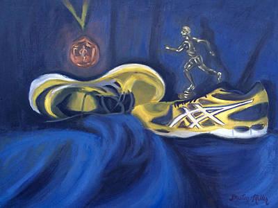 Painting - Runner's World by Dustin Miller
