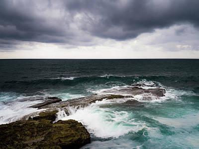 Photograph - Running Between Rocks by Edgar Laureano