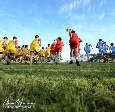 Photograph - Running by Brian Jones