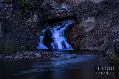 Photograph - Running Eagle Falls by Adam Jewell