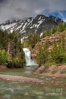 Photograph - Running Eagle Spring Flow 1 by Katie LaSalle-Lowery