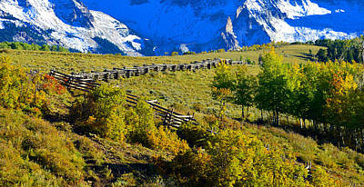Photograph - Running Fence  by David Lee Thompson