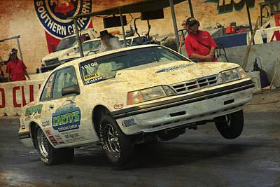 Photograph - Running Ford by Richard J Cassato